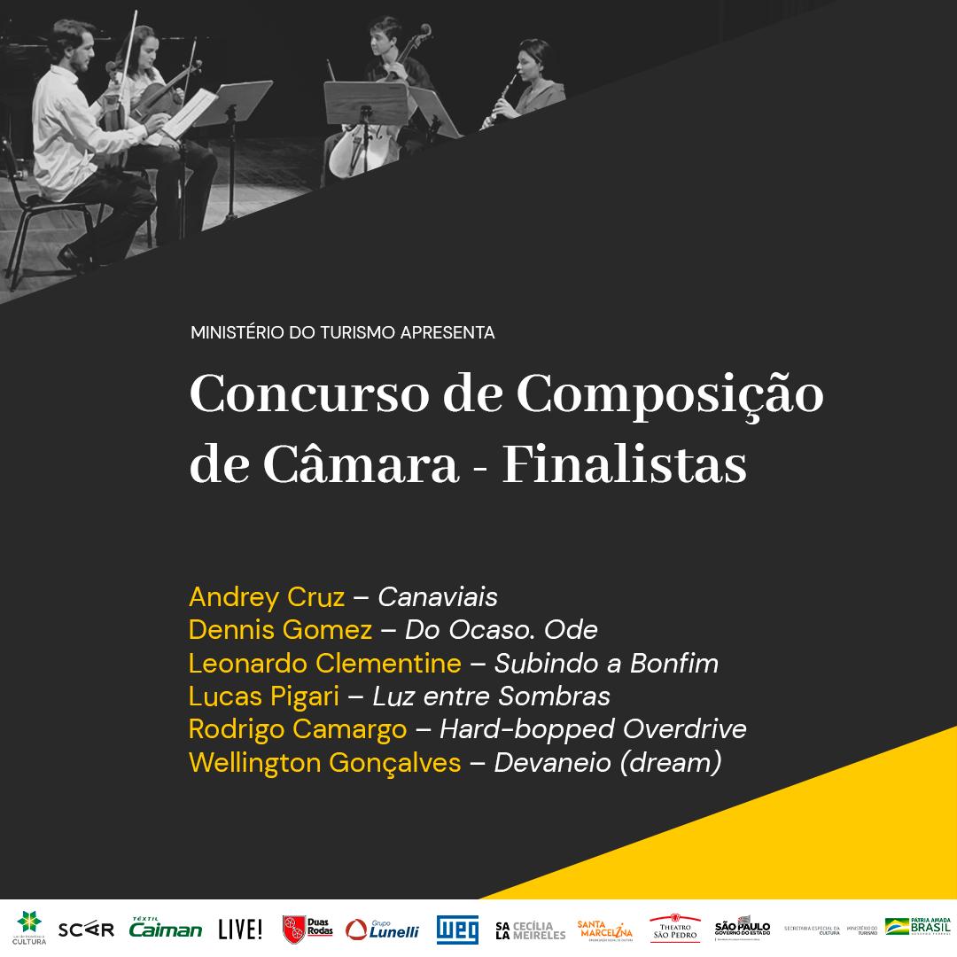 Finalistas Concurso Composição De Câmara